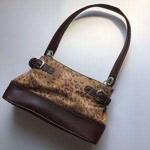 TOMMY HILFIGER leopard print purse